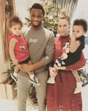 So proud of you my love - Mikel Obi